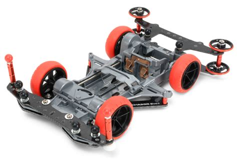 15160 Tamiya Mini4wd 19mm Aluminum Bearing Roller 1 32 mini 4wd vs chassis evo i