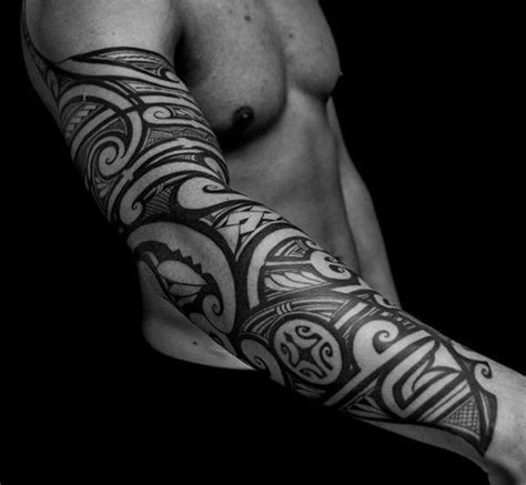 badass tribal arm tattoos tribal badass sleeve tattoos with black ink tatoos