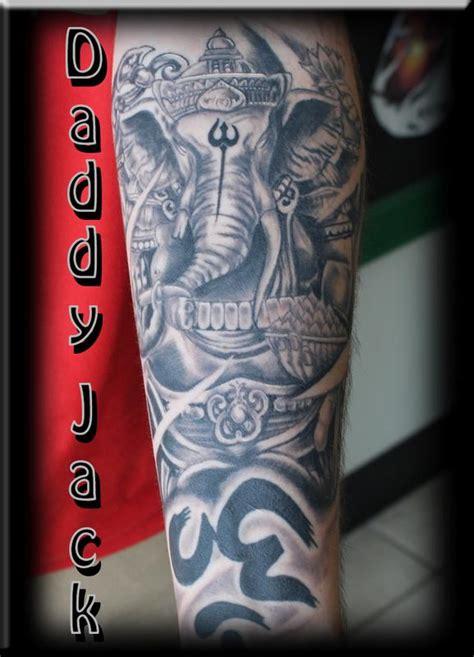 christian tattoo artist fort worth hindu elephant by daddy jack tattoonow