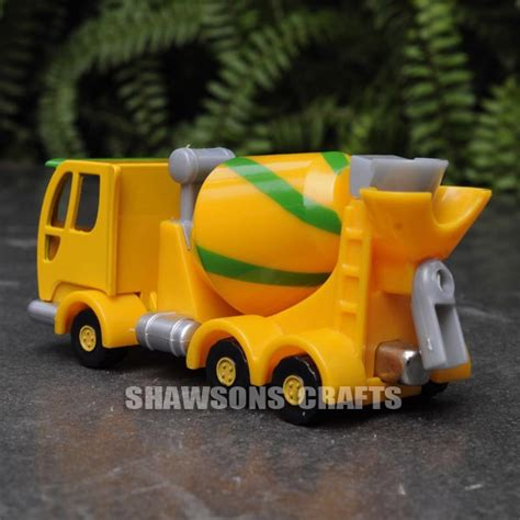 Diecast Truck Metal Builder bob the builder diecast metal toys tumbler the mixer truck