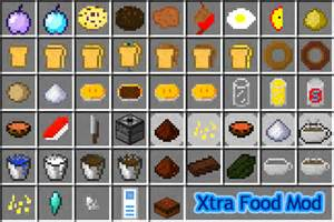 1 2 5 xtra food mod v1 0 5 chocolate cakes sandwiches minecraft mods mapping and