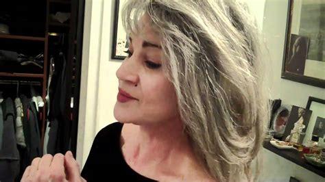 Hair Go let your hair go gray if you feel like it