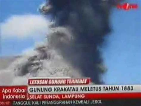 film animasi gunung meletus gunung krakatau meletus th 1883 ter dahyat di dunia by