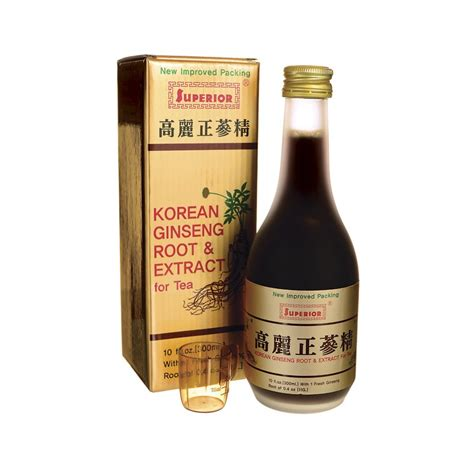Korean Ginseng Extract korean ginseng root extract for tea 10 fl oz liquid
