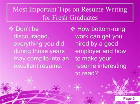 tips on writing resumes most important tips on resume writing for fresh graduates