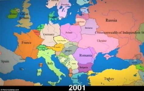 show me a map of europe show me a map of europe
