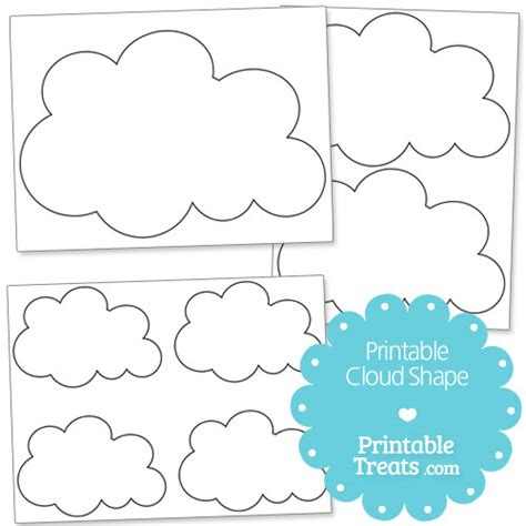 printable cloud shapes free worksheets 187 shape printable free math worksheets