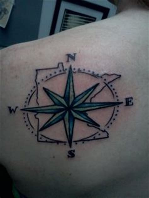 minnesota outline tattoo tattoos on minnesota compass