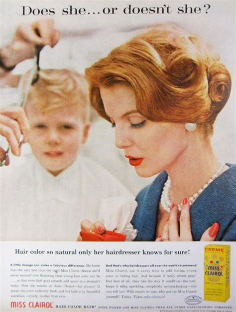 vintage clairol ads on pinterest clairol hair color top 332 ideas about look good clairol on pinterest