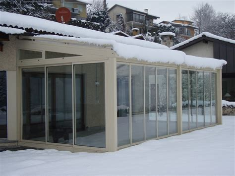 verande vetro veranda in alluminio e vetro veranda frubau