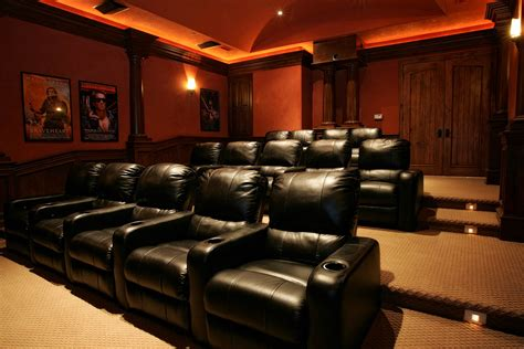 custom home theater furniture lanai home theater
