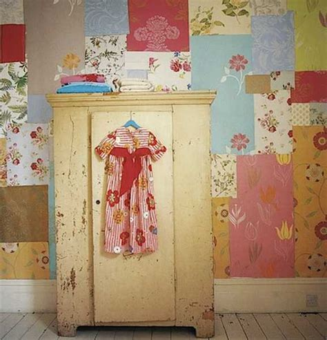 Patchwork Wallpaper - modern patchwork wall decorating 30 amazing accent wall