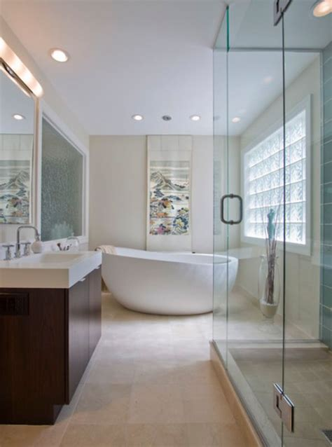 Narrow Bathrooms by Unique Freestanding Bathtubs That Add Flair To Your Bathroom