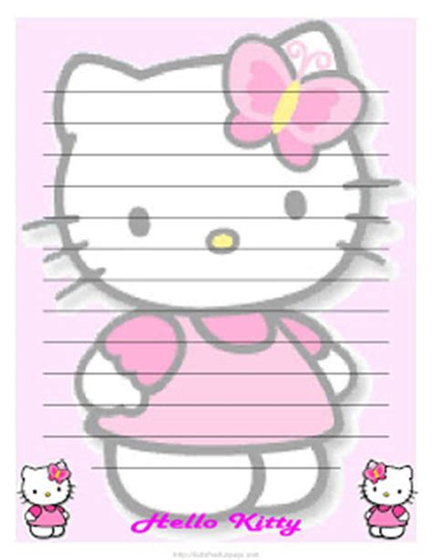 printable hello kitty letters march 2012 hello kitty forever