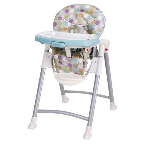 graco contempo highchair dots baby feeding high