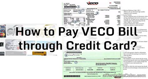 how to make payment through credit card how to pay veco bill through credit card banking 30191