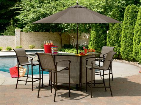 outdoor patio bar set complement your home with outdoor nature top 20 outdoor
