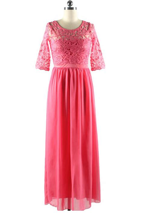 Chiffon Lace Dress kettymore winter chiffon dresses lace designed