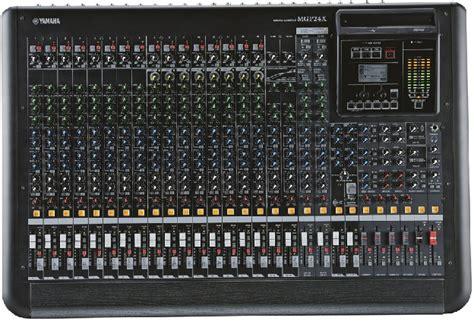 table de mixage yamaha 16 pistes table de mixage yamaha mgp24x 16 xlr mono 16 mono 4