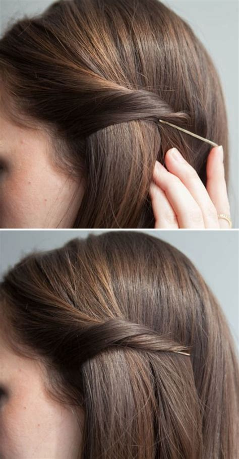 7 Hairstyles For The Holidays by 25 Best Ideas About Bobby Pin Hairstyles On
