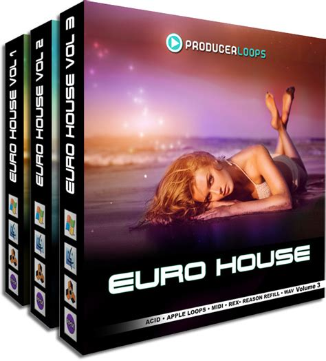 euro house music producer loops euro house bundle