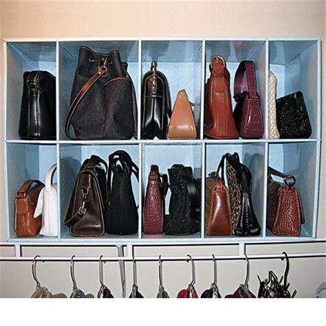 Closet Bag Organizer by Handbag Organizer Organization Storage Closets Freshfinds