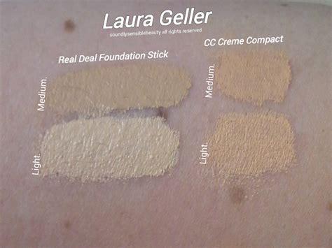 laura geller bb cream light laura geller real deal stick foundation spf 15 review