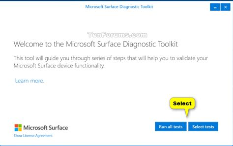 windows 10 surface tutorial use microsoft surface diagnostic toolkit in windows 8 1