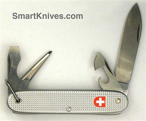 soldier swiss army knife victorinox and wenger 1992 soldier 93mm aluminum alox