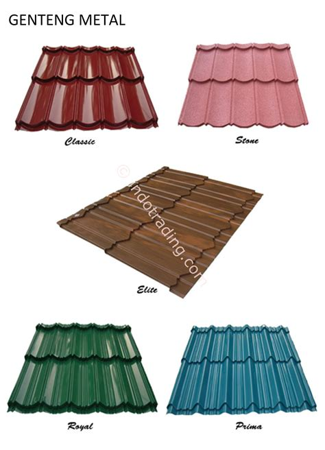 Genteng Acrylic sell metal roof colors from indonesia by toko matra atap