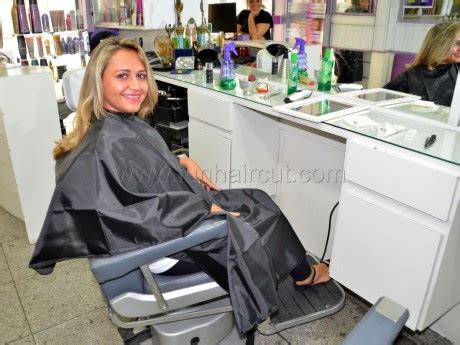 girl in barber chair fun hair cut more photos barberettes barberettes