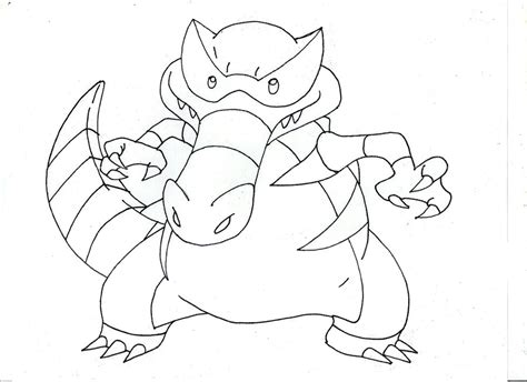 pokemon krookodile free colouring pages krookodile and evolutions pokemon coloring pages coloring