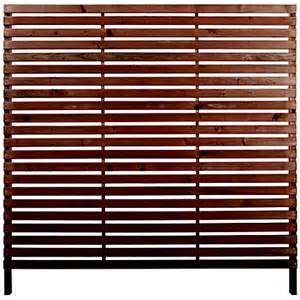 Fence Screening Panels Rothley Skreen Slatted 1 8m Fence Panels Screens Pack Of 10