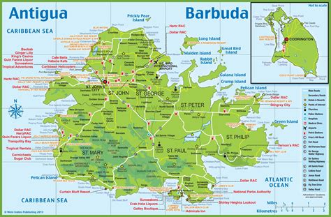 antigua map antigua and barbuda map uptowncritters