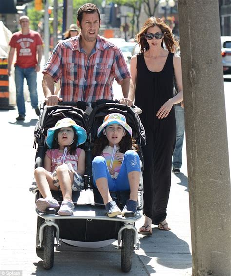 Gb Stroller 613 Strete Black adam sandler and jackie take their daughters age