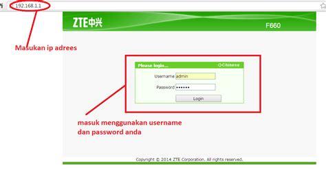 cara membuat jaringan wifi tidak lemot tips cara setting password wifi pada modem zte