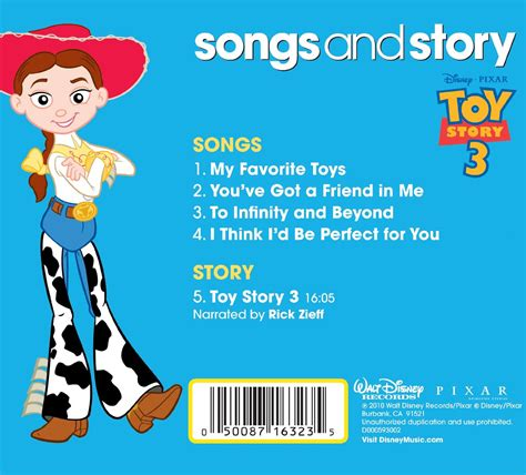 songs and story toy story 3 disneywiki