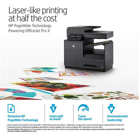 hp officejet pro x576dw all in one inkjet printer