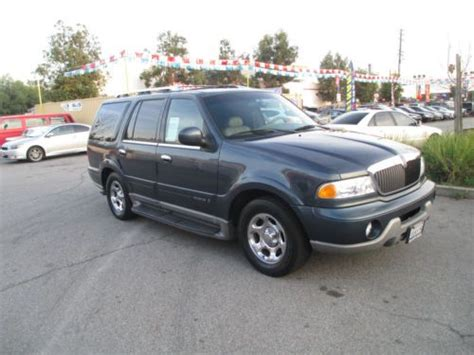 active cabin noise suppression 2001 lincoln navigator electronic valve timing buy used 2001 lincoln navigator in azusa california united states