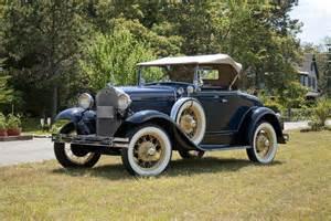 1931 ford model a roadster shiny side automotive