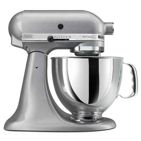 Kitchen Aid Silver by Littlekitchenshop Kitchenaid Stand Mixer Artisan Series 5