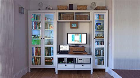 Hemnes Tv Bench Hack For Pcs Or Large Av Equipment Ikea Bedroom Wall Unit Ideas