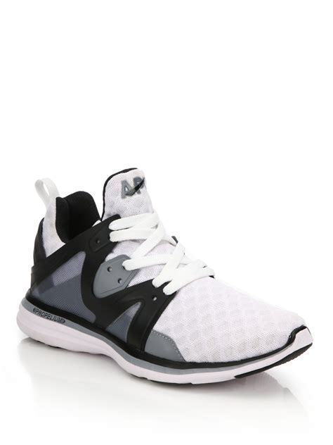 athletic propulsion labs shoes athletic propulsion labs ascend mesh running sneakers in