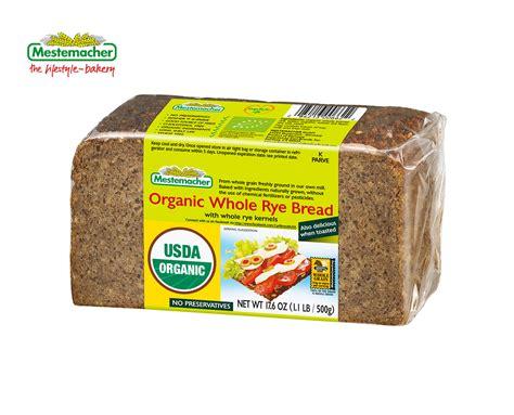 whole grain rye bread mestemacher organic whole rye bread