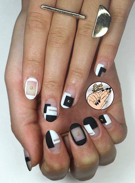 nail art and colors for march 2015 маникюр 2015 модные тенденции частичный маникюр negative