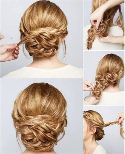 curly hair updos step by step easy and simple step by step hairstyles for medium hairs