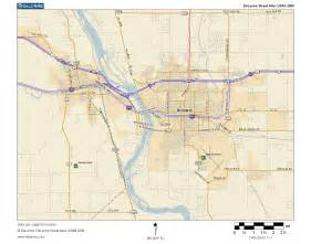 of west cus map map of bismarck