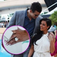 kim kardashian bought her own engagement ring celebrity gossip and entertainment news did kim