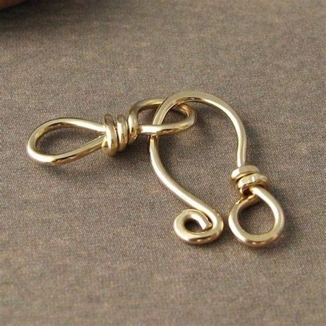 Handmade Jewelry Supplies - 14k gold filled clasp set handmade jewelry supplies
