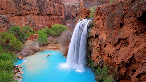havasu falls arizona wallpapers hd wallpapers id